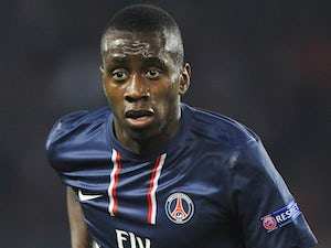 Paris Saint-Germain's Blaise Matuidi on November 6, 2012