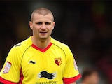 Watford's Carl Dickinson on March 17, 2012
