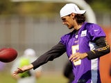 Minnesota Vikings' Chris Kluwe on July 30, 2012