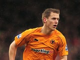 Wolverhampton Wanderers' Christophe Berra on March 4, 2012
