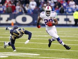 Bills running back CJ Spiller carries the ball against the Rams on December 9, 2012