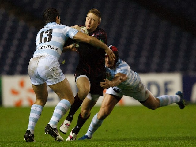 Result: Edinburgh beaten by Racing Metro