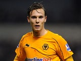 Wolverhampton Wanderers' Eggert Jonsson on January 31, 2012