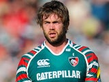 Leicester Tigers' Geoff Parling on May 12, 2012