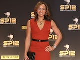 Team GB star Jess Ennis arrives for Sports Personality of the Year on December 16, 2012