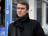 Birmingham City's manager Lee Clark during the match against Crystal Palace on December 15, 2012