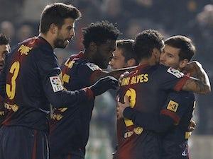 Result: Barcelona set up Real semi-final