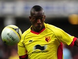 Watford's Lloyd Doyley on March 17, 2012