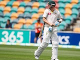 Michael Clarke is caught out for 74 against Sri Lanka on December 15, 2012