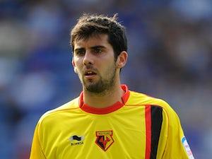 Watford's Piero Mingoia on April 25, 2011