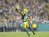 Randall Cobb of the Green Bay Packers on December 9, 2012