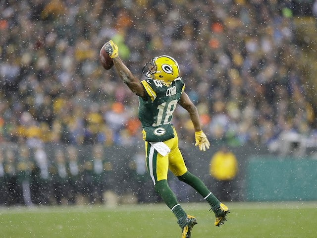 Rodgers pleased with Packers receivers
