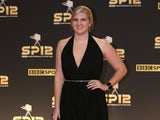 Team GB medalist Rebecca Adlington arrives at Sports Personality of the Year on December 16, 2012