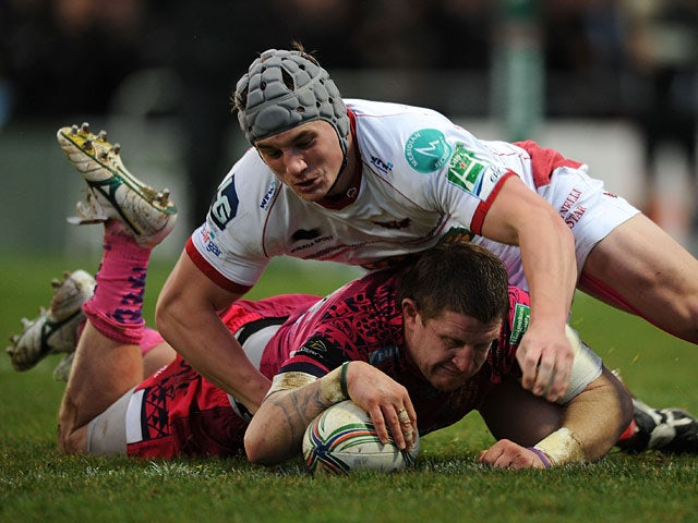 Result: Late try seals Exeter win
