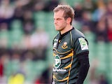 Northampton's Stephen Myler on October 14, 2012