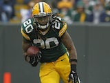 Packers RB Alex Green carries the ball against the Vikings on December 2, 2012