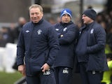 Rangers manager Ally McCoist having a laugh on December 22, 2012