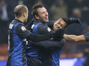 Team News: Cassano starts against Sampdoria