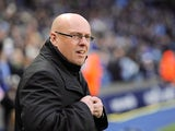 Royals boss Brian McDermott before kickoff on December 22, 2012
