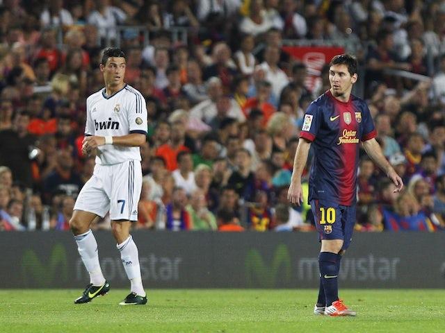 promo code 9e5de d9b08 Cristiano Ronaldo's girlfriend asked to cut up Lionel Messi ...