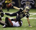 New Orleans Saints quarterback Drew Brees on December 16, 2012