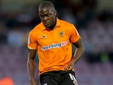 Frank Nouble for Wolves on August 30, 2012