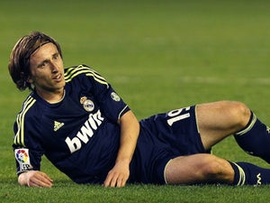 Modric in Madrid squad