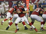 Atlanta Falcons quarterback Matt Ryan against the NY Giants on December 16, 2012