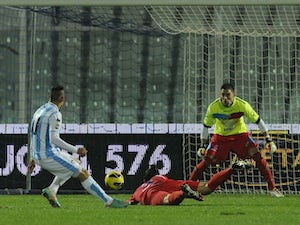 Result: Fiorentina go down to Pescara