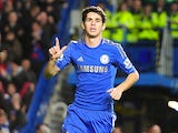 Oscar scores Chelsea's sixth on December 23, 2012