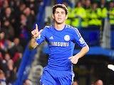 Oscar scores Chelsea's sixth on December 23, 2012