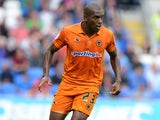 Wolves' Ronald Zubar in action against Cardiff on September 2, 2012