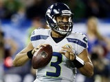 Seahawks QB Russell Wilson during the game with Buffalo on December 16, 2012