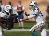 Miami Dolphins quarterback Ryan Tannehill on December 16, 2012