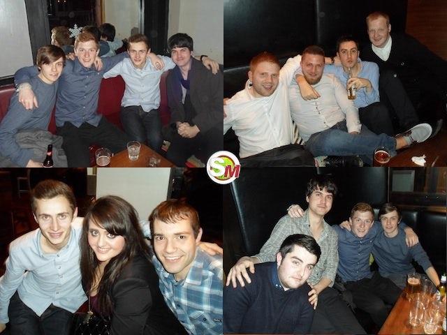 Sports Mole Christmas party 2012 composite
