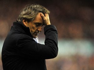Mancini furious with penalty decision