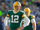 Green Bay Packers' Aaron Rodgers on December 23, 2012