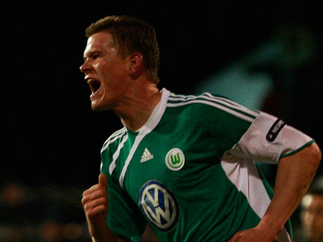 Wolfsburg Alexander Madlung on April 1, 2010