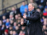 Rangers manager Ally McCoist on the touchline on December 29, 2012