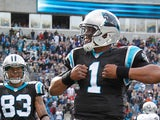 Carolina Panthers' Cam Newton on December 23, 2012