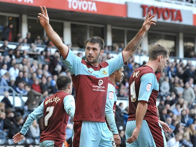 Half-Time Report: Austin gives Burnley lead