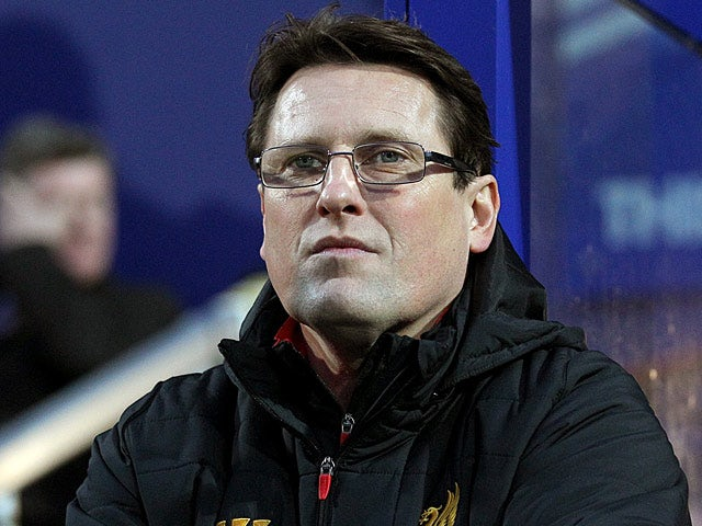 Liverpool assistant manager Colin Pascoe during the match against QPR on December 30, 2012