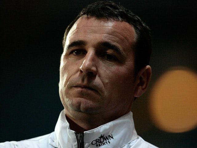 Blackburn Rovers coach Gary Bowyer on March 17, 2010