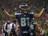 Seattle Seahawks' Golden Tate on December 23, 2012