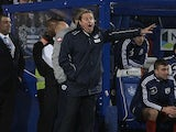 QPR manager Harry Redknapp barks the orders from the touchline on December 26, 2012