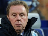 QPR manager Harry Redknapp during the match against Liverpool on December 30, 2012