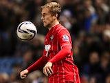 Southampton's Luke Shaw on October 30, 2012