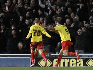 Result: Watford ease past Huddersfield