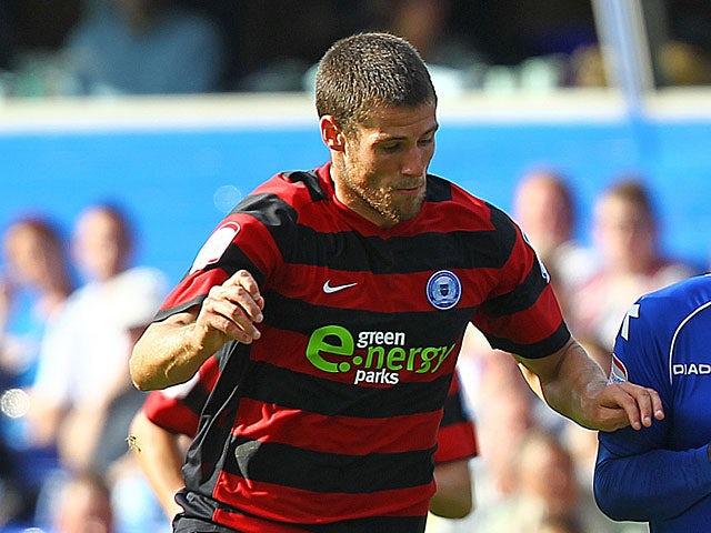 Peterborough United's Michael Bostwick on September 1, 2012
