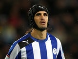 Sheffield Wednesday's Miguel Llera on December 2, 2012